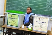 Bureau de vote en Jordanie, lors des élections parlementaires de janvier 2013.