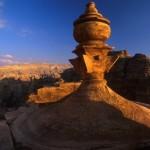 Coupole de Deir à Petra - Photo Mario Verin