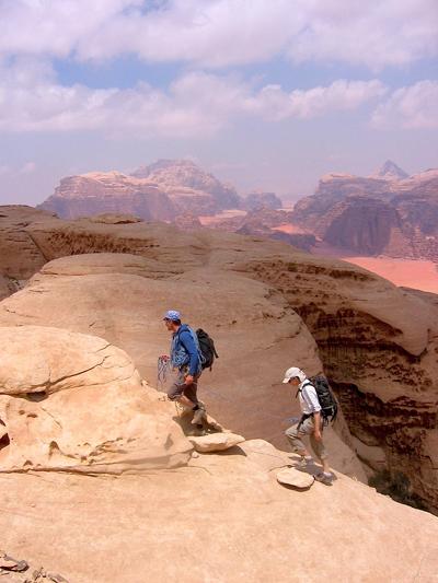 Climbing Jebel Rum and Bedouin Routes in Jordan