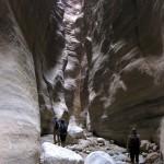 Jeu de lumiere dans le Wadi Hudeira