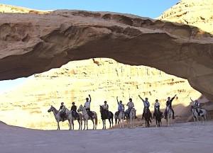 La Jordanie à cheval - Cavaliers sous l