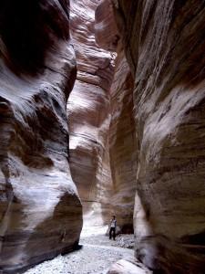 Wadi Un'mera à la Mer Morte
