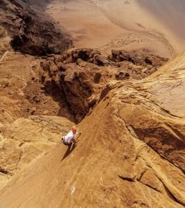 Gloria, Jebel Kharazeh - Wadi Rum climbing