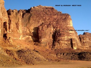 Draif al Muragh - West Face