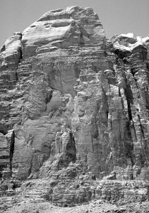 Jebel Rum - Main East Face