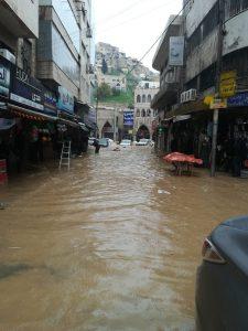 1er mars 2019 - les rues d'Amman sont inondées...