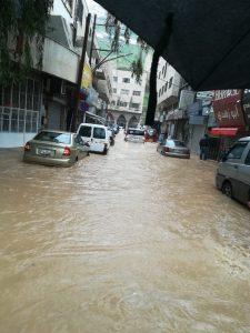 Amman inondé le 1er mars 2019