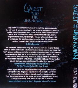 QUEST INTO THE UNKNOWN