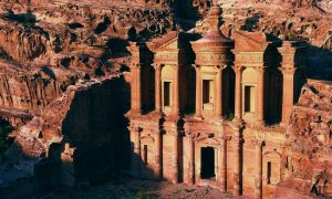 Petra, the red rose city of the nabateans