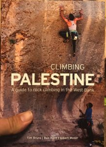 Rock Climbing guidebook to Palestine