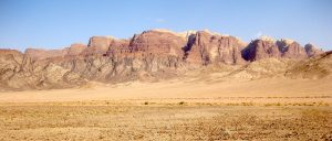 West side of Jebel Rum in Jordan