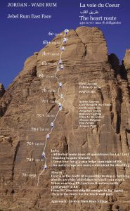 The Heart Route in Wadi Rum