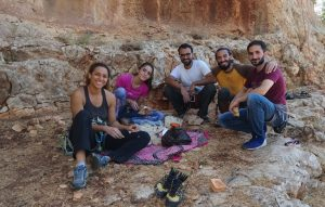 Jordan-French Adventure-Guides training