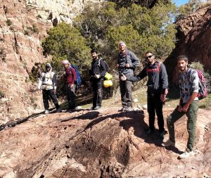 Jordan-French Adventure-Guides training