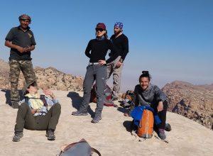 Jordan Adventure Guides training in 2019, in Shaubak area